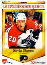 1992-93 Durivage Panini #12 Kevin Dineen