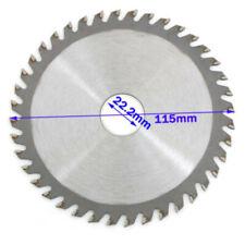 "4.5"" 115mm 40 Teeth Circular Saw Blade Angle Grinder Saw Disc For Wood Cutting"