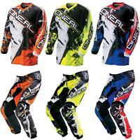 ONeal Element KINDER MX Jersey Hose Shocker Moto Cross Enduro Mountainbike MTB