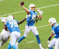 Justin Herbert Autographed Signed 8x10 Photo ( Chargers ) REPRINT