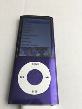 Ipod Nano 5th Generation 8GB PURPLE With Camera