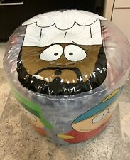 Vintage Inflatable South Park Ottoman Chef Rare 1998