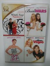 What's Your Number, Bride Wars, 27 Dresses, What Happens in Vegas Dvd