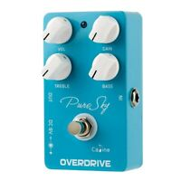 Caline Pure Sky OD Guitar Effect Pedal Highly Pure and Clean Overdrive Guit F4G9