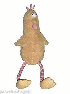 Xmas Good Boy Plush Rope Small Festive Quirky Turkey Christmas Dog Toy