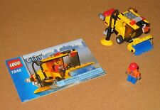 7242 LEGO Street Sweeper – 100% Complete w Instructions EX COND 2005