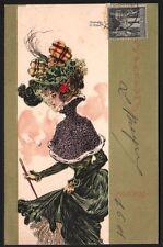Raphaël Kirchner. Les parfums. Dell'Aquila D.12-2.  1900