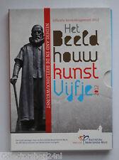 Netherlands 2012 Het Beeldhouwkunst Vijfje  Euro Zilver Proof