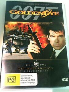 James Bond, GoldenEye, DVD, 2 disc, ULTIMATE Edition, Region 4