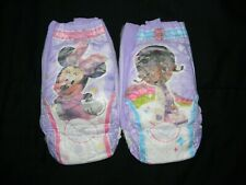 4 Huggies Pull-ups 4t-5t Size 4t-5t made to fit 32 in waist easy.