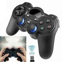 2.4G Wireless Gamepad Game Controller For Android Black PC Tablet Phone TV Q3A4