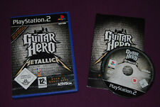 GUITAR HERO : METALLICA - Neversoft/Activision - Musique Playstation PS2 PAL FR