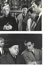 4 PHOTOS FILM LES BARBOUZES  L.VENTURA J.LEFEBVRE B.BLIER circa 1964