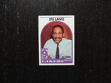 1989 1990 NBA Hoops Announcer Card Stu Lantz Lakers Promo Basketball Card