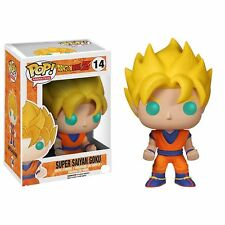 Dragon Ball Z Súper Saiyan Goku 9.5cm Pop Vinyl Figura Funko 14 UK Vendedor
