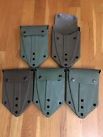 USGI - (5) Five  Entrenching E-Tool Carriers US Military LC-1 Carrier COY or OD