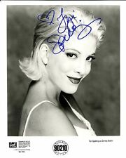 TORI SPELLING ACTRESS SIGNED 8X10 STAR OF 90210 AS DONNA MARTIN  PROMO WIH COA