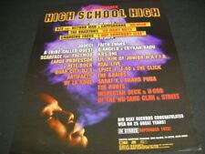 High School High 1996 Promo Poster Ad Jodeci Wu-Tang Clan Scarface Faith Evans