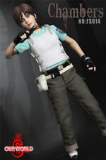 12'' Female Figure 1/6 SW ourworld FS014 Rebecca Chambers Resident Evil Doll Toy
