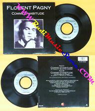 LP 45 7'' FLORENT PAGNY Comme d'habitude 1989 france PHILIPS no cd mc dvd