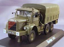 BERLIET GBC 8 6X6 TRUCK MK 1958 MILITARY GREEN 690007 LKW Norev 1:43 New!