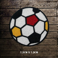 Colored Football Embroidered Iron On Sew On Patch Badge For Clothes etc