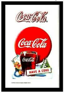 Coca Cola Coke Mirror Wall Mirror, BAR, Party Basement, BAR, 11 13/16in