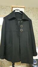 Zara chaqueta  chaquetón negro L 40 como nuevo Blogger chic giacca Jacke veste