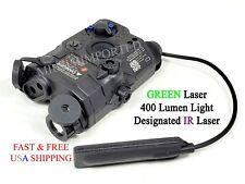 Wadsn Peq 15 La5C Uhp Integrated Green Laser Ir Pointer / Light Device - Black