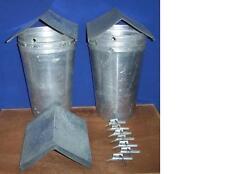 6 MAPLE SYRUP Aluminum Sap Buckets +Lids COVERS + TAPS Spiles Spouts