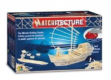 Matchitecture Chinese Junk Matchstick Model Construction kit - NEW