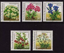 Germany 1991 Plants SG 2350-2354 MNH