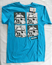 NWT Men's M Angry Birds Star Wars Graphic Print T-Shirt