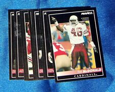 Phoenix Cardinals 1992 Pinnacle Team Set 10 Cards inc Tom McDonald
