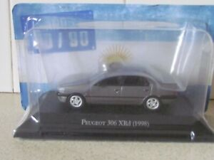 ALTAYA /IXO - 1998 PEUGEOT 306 XRD GREY  1/43 SCALE MODEL - ARGENTINA COLLECTION