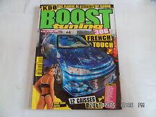 BOOST TUNING N°114 15/04/2005 AUDI TT QUATTRO SPORT 205 GTI HONDA CIVIC ESI  D31