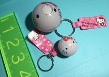 Sanrio Original Hello Kitty KEY Chain KEYCHAINs 2007 Retro Water Bubble Light Up