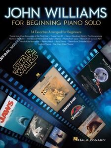 JOHN WILLIAMS For Beginning Piano Solo Book *NEW* Music Songs