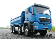 LESU Full Metal 8x8 Hydraulic Dump Truck RTR, (Cab is plastic) EHD Unpainted ver