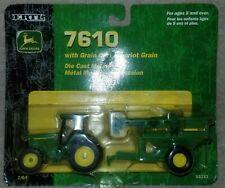 John Deere 7610 W/ Grain cart, 1/64 Scale.