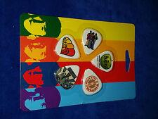 2009 Apple Guitar Picks (medium) The Beatles 10 Pack C