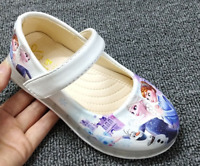 Top Quality Girls Frozen Queen Elsa Princess Party shoes fancy dress 100+ SOLD