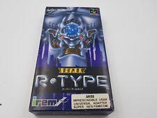 Super R-Type Completo Nintendo Snes Super Famicom Japan.Combino Envios
