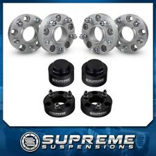 "Fits 12-16 Dodge Ram 1500 Wheel Spacer Kit 4x 1.5"" + Lift Kit 3"" Front + 2"" Rear"
