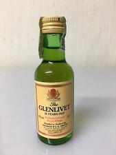 Mignon Miniature Glenlivet 12yo Unblended All Malt Scotch Whisky 5cl 43% Vol