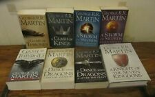 Game of Thrones Complete 8 book set inc Knight of the Seven Kingdoms Prequel VGC