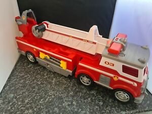 Paw Patrol Marshall Ultimate Rescue Fire Truck Engine Lights & Sounds