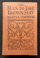 The Man In the Brown Suit. 1924 1st UK Edition.  Agatha Christie.