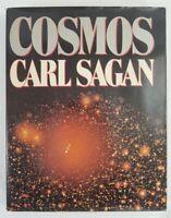 COSMOS by Carl Sagan (HC/DJ, 1980) First Edition, 1st Printing