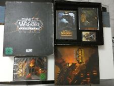 wow world of warcraft cataclysm collector's edition tout scellé jeu game sealed